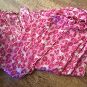 Accessories - Pink Leopard Scarf